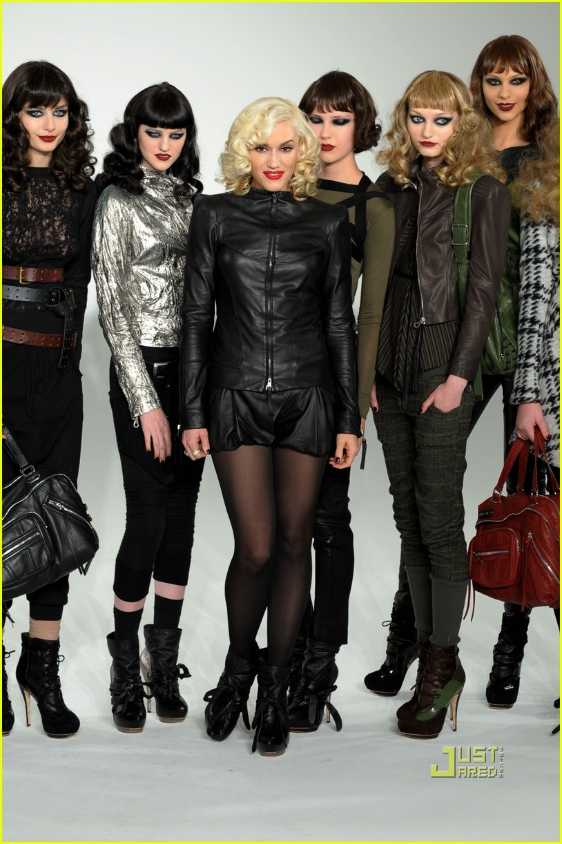 Gwen Stefani kicks off New York Fashion Week