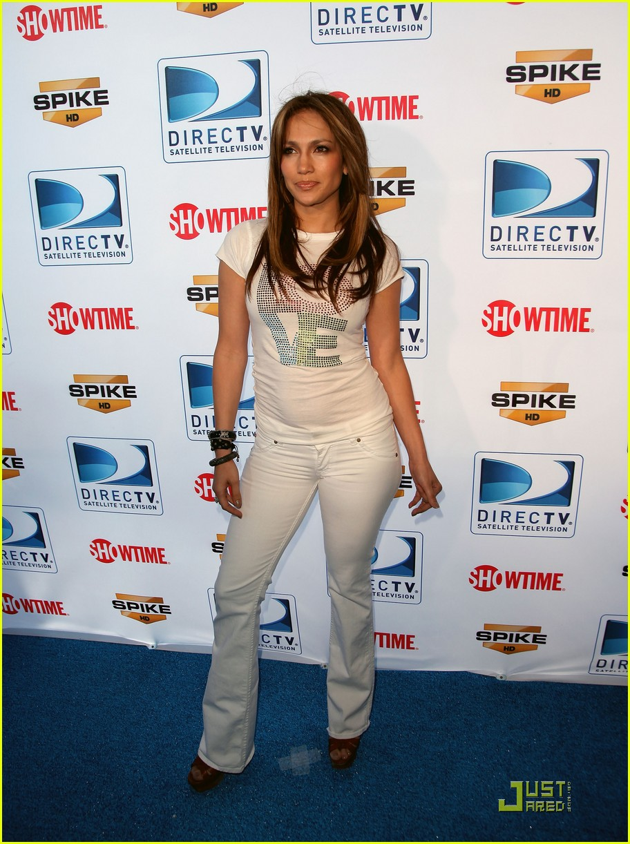 jennifer lopez directv celebrity beach bowl 022425929
