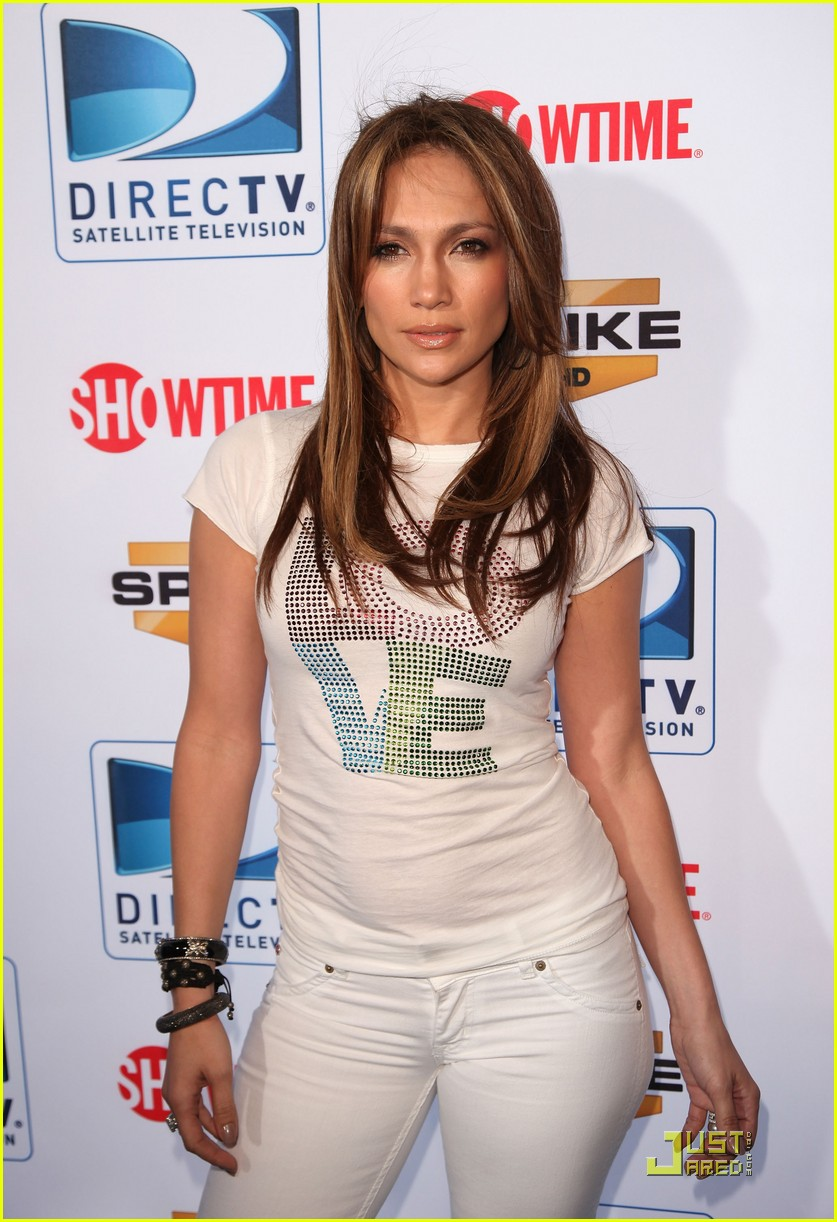 jennifer lopez directv celebrity beach bowl 062425933