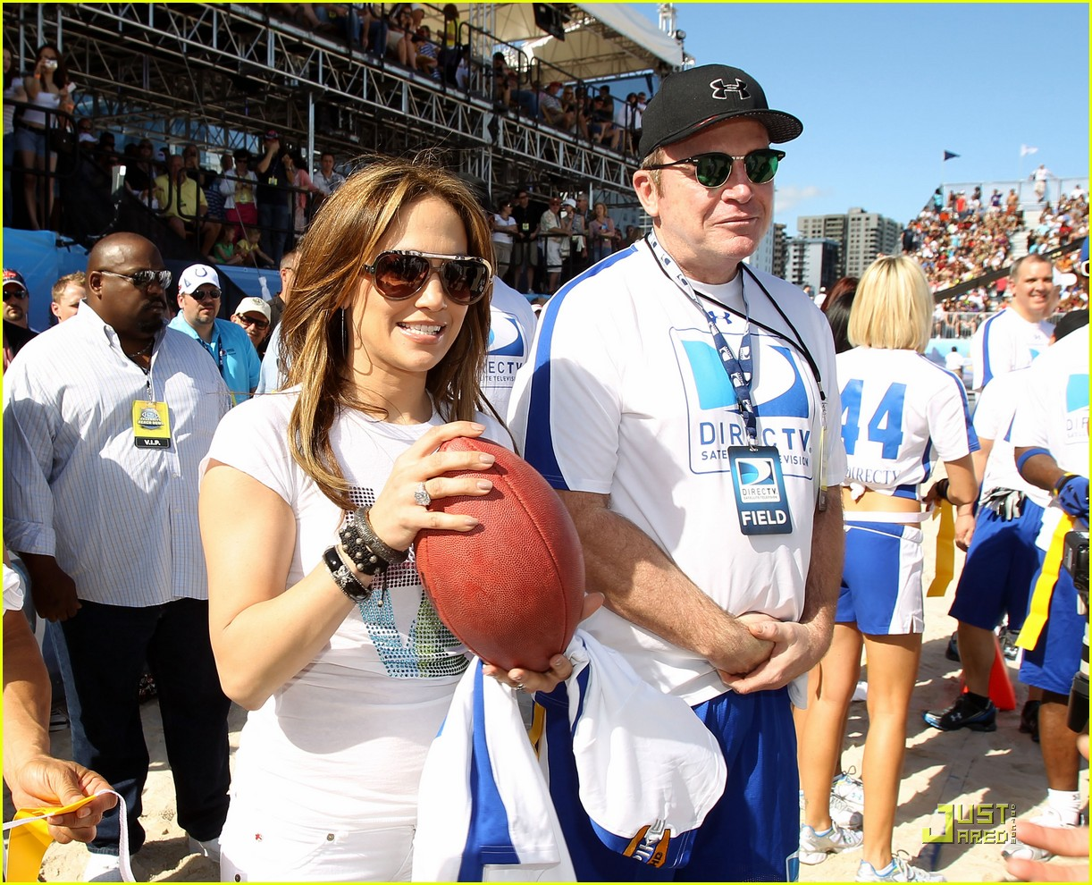 jennifer lopez directv celebrity beach bowl 222425949
