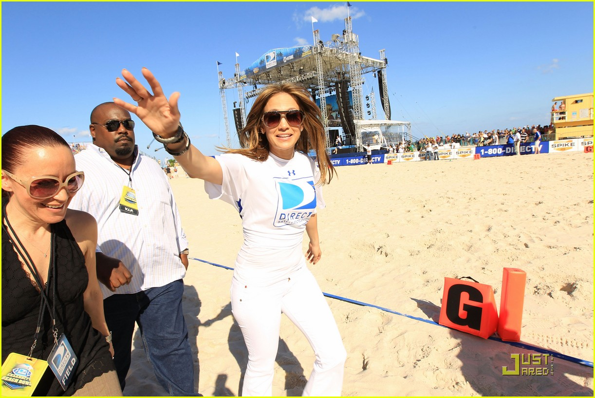 jennifer lopez directv celebrity beach bowl 282425955