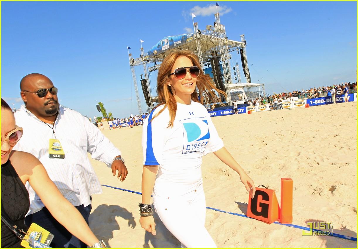 jennifer lopez directv celebrity beach bowl 292425956
