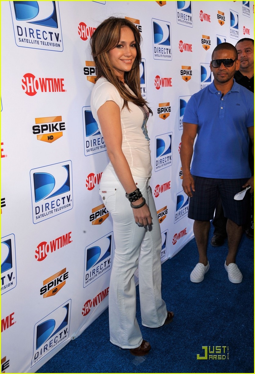 jennifer lopez directv celebrity beach bowl 312425958