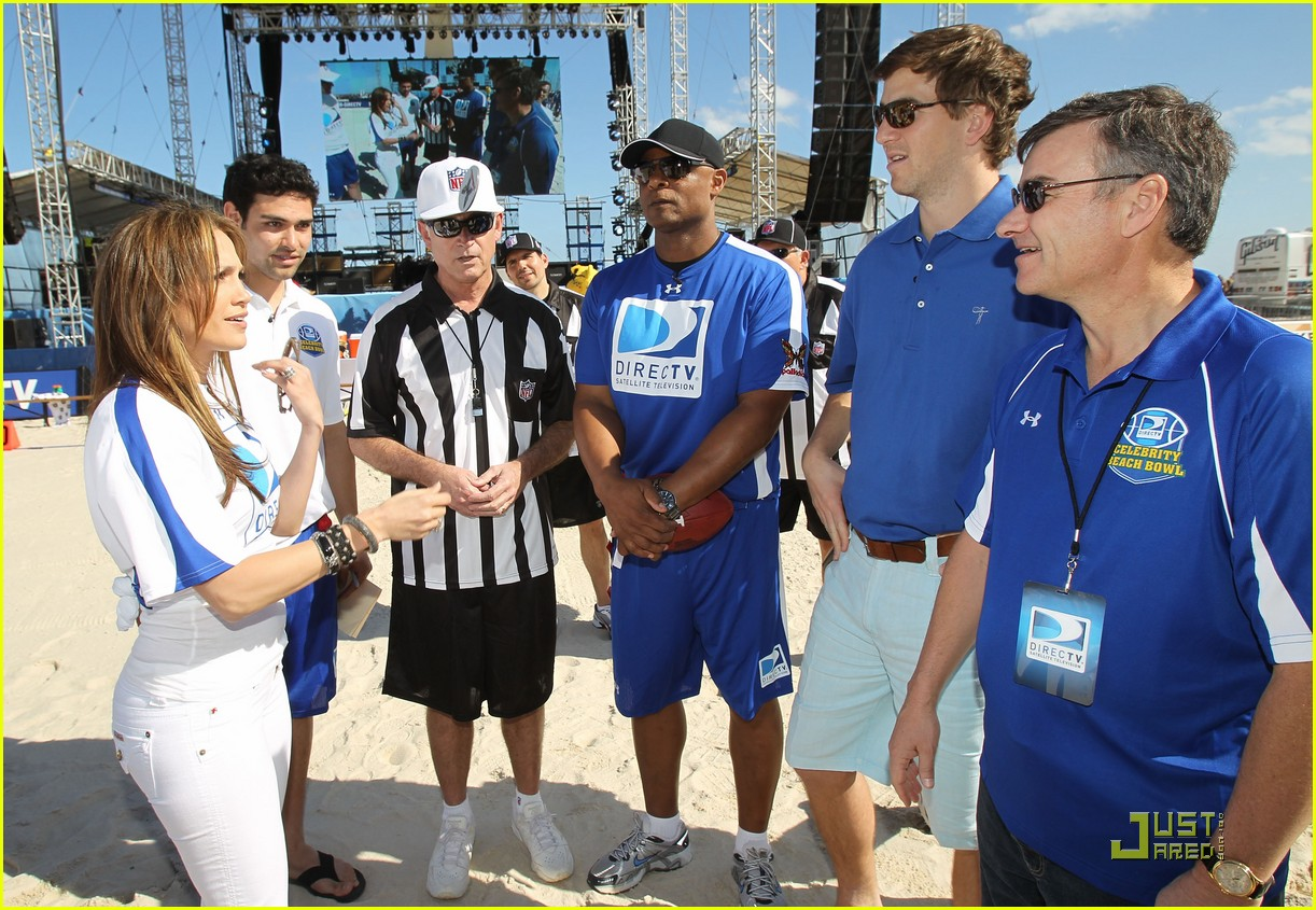 jennifer lopez directv celebrity beach bowl 402425967