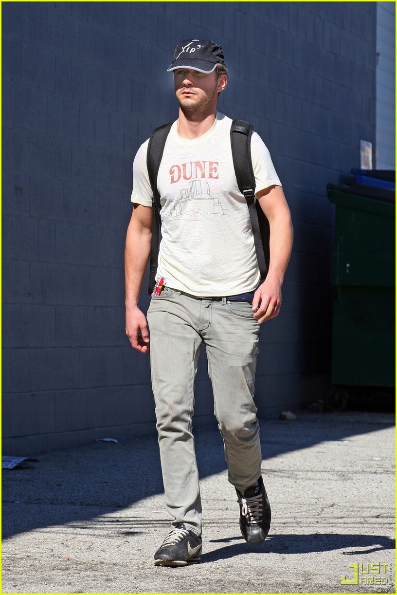 shia labeouf dune shirt gym 062426886