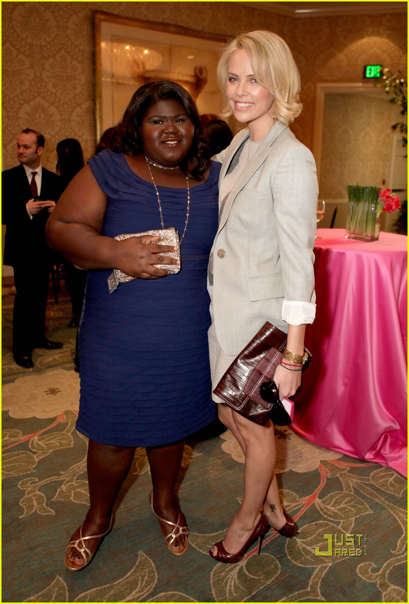 gabourey sidibe v day luncheon 02
