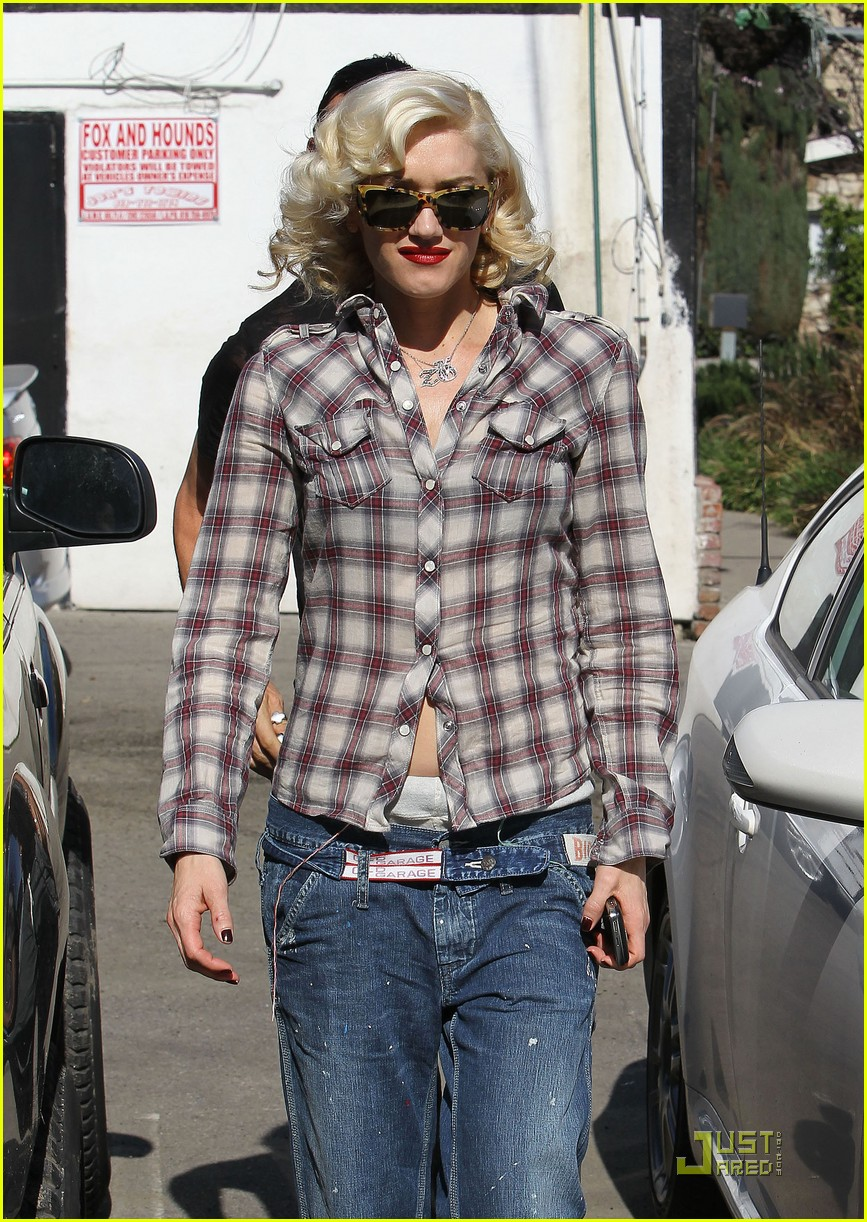gwen stefani rossdale lunch lovebirds 032427632