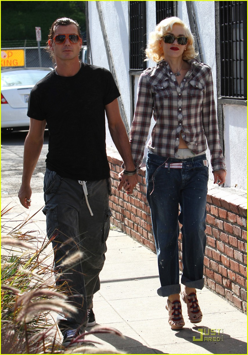 gwen stefani rossdale lunch lovebirds 112427640