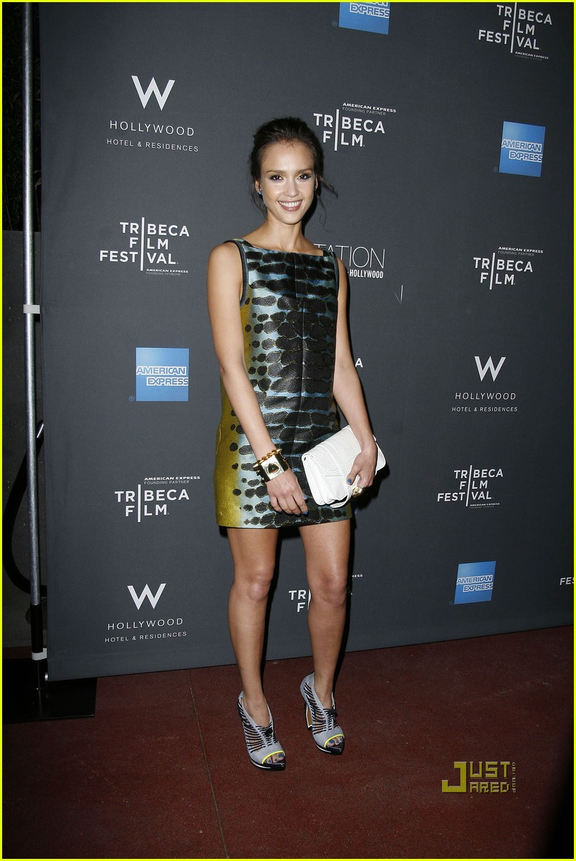 jessica alba tribeca film festival party 092436863