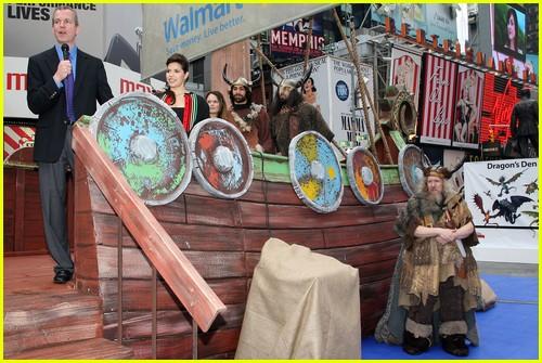 America ferrera viking ship in times square photo 2436757 america ferrera viking ship in times square ccuart Images