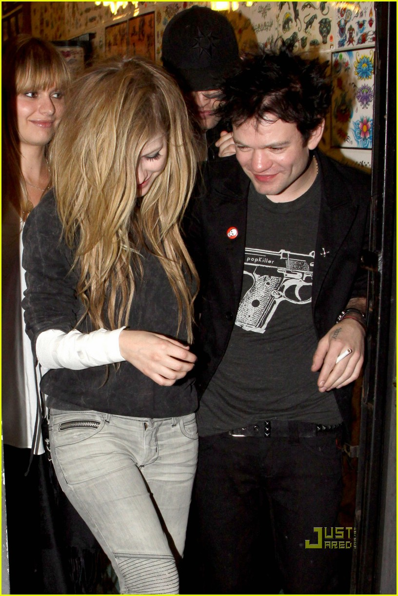 Avril lavigne deryck whibley those