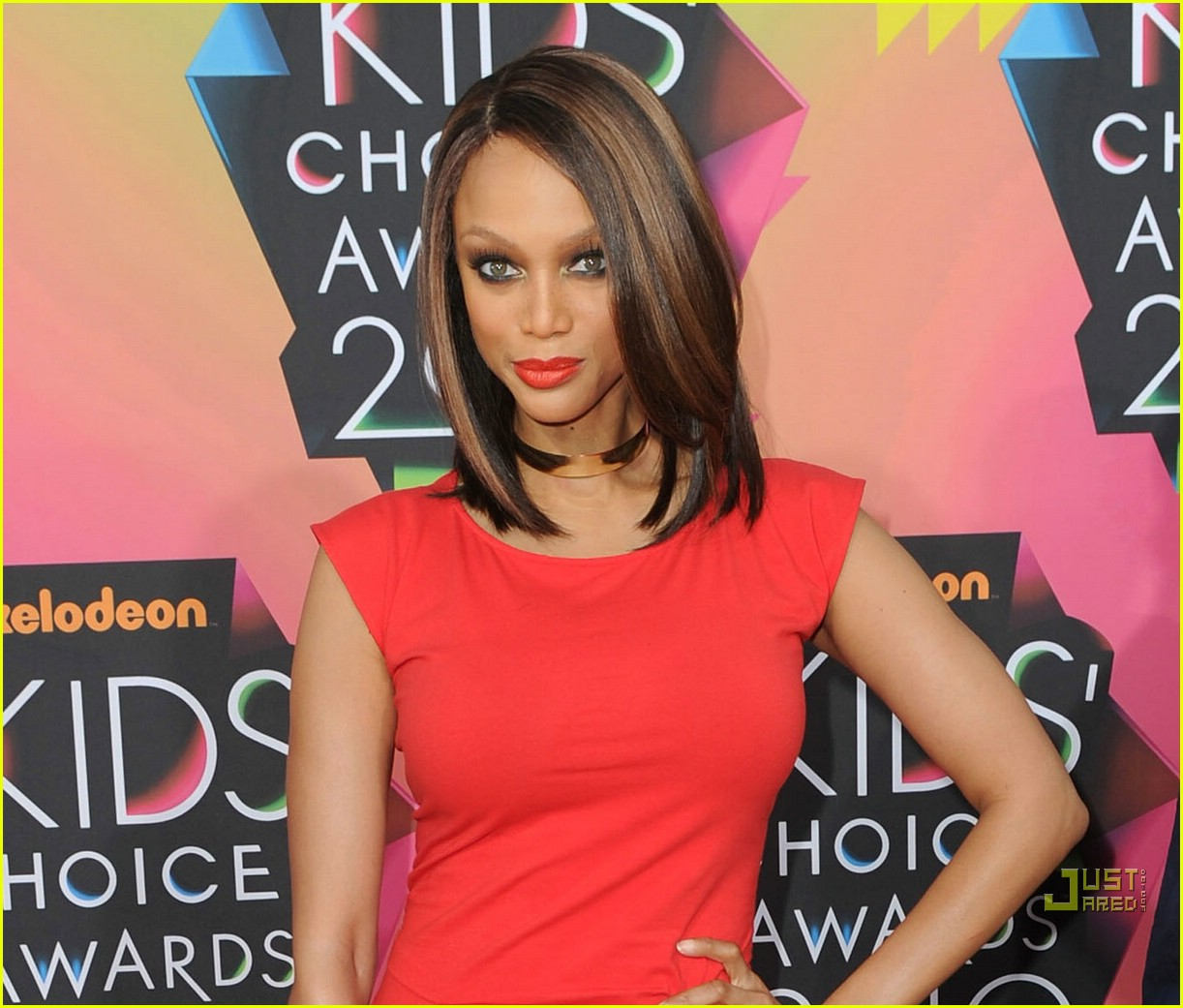 Tyra Banks Awards: Tyra Banks - 2010 Kids Choice Awards: Photo 2437905