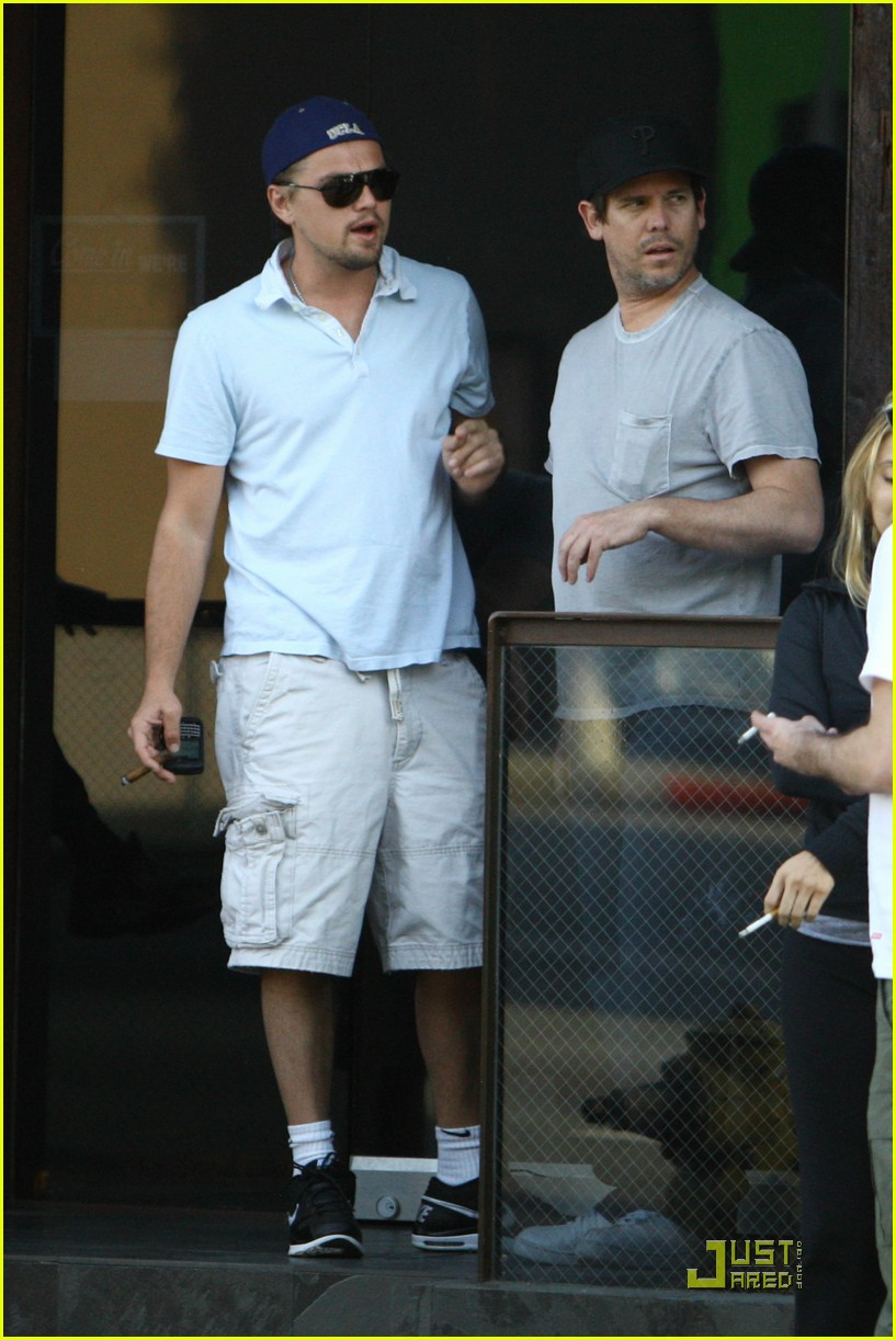 leonardo dicaprio chess and cigars 102438240
