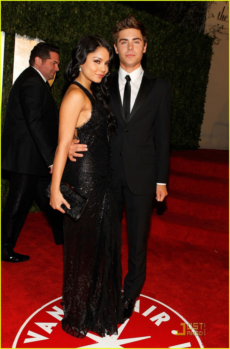 zac efron vanessa hudgens perfect party pair 012433203