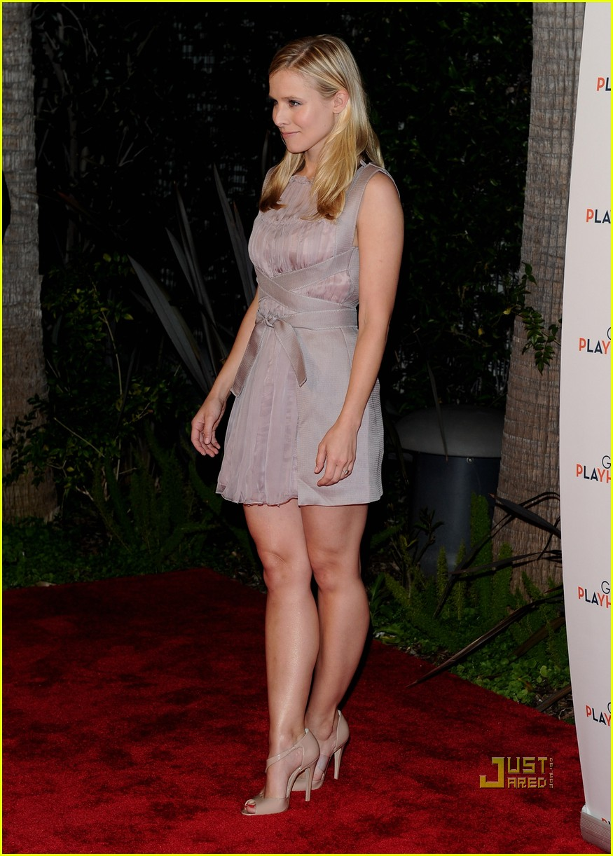 shades of genuine shoes best sell Kristen Bell: Backstage at the Geffen with Kristin Chenoweth ...