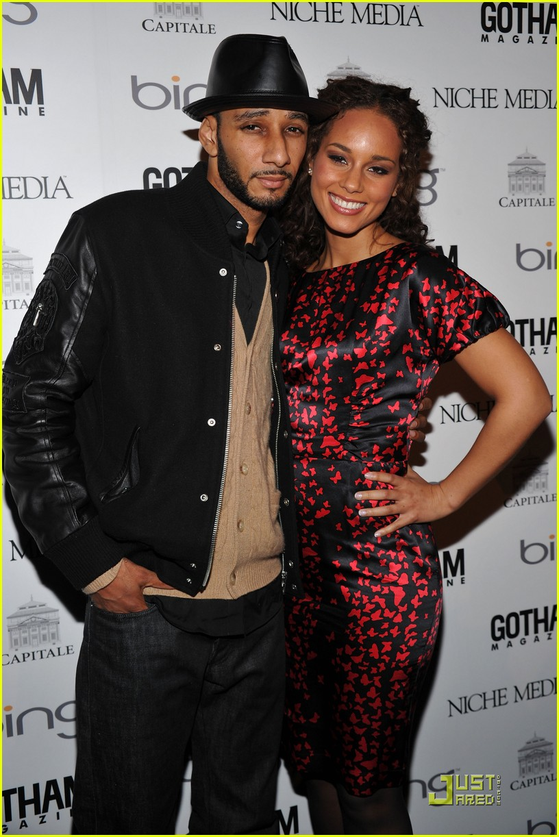 alicia keys steps out with swizz beatz 072434963
