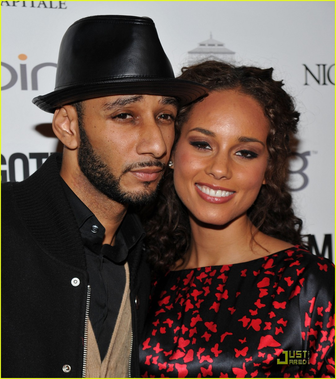 alicia keys steps out with swizz beatz 08