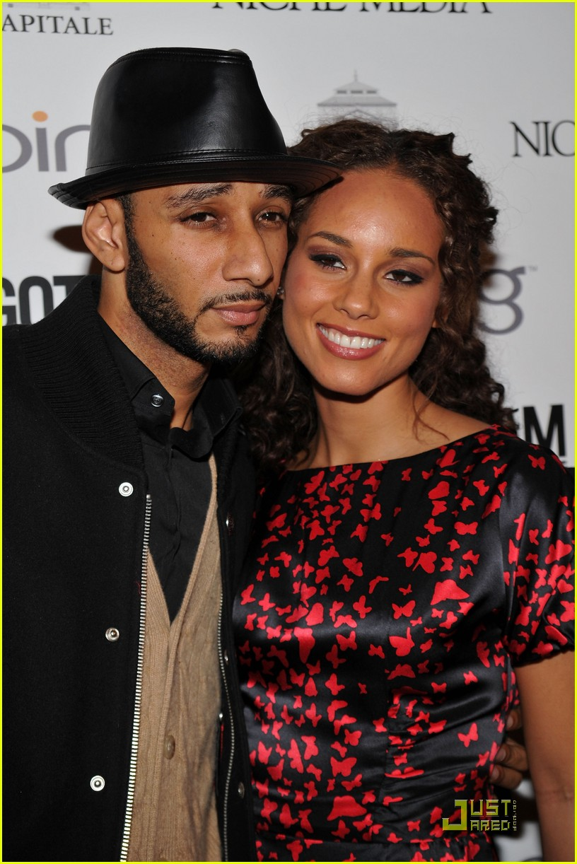 alicia keys steps out with swizz beatz 10