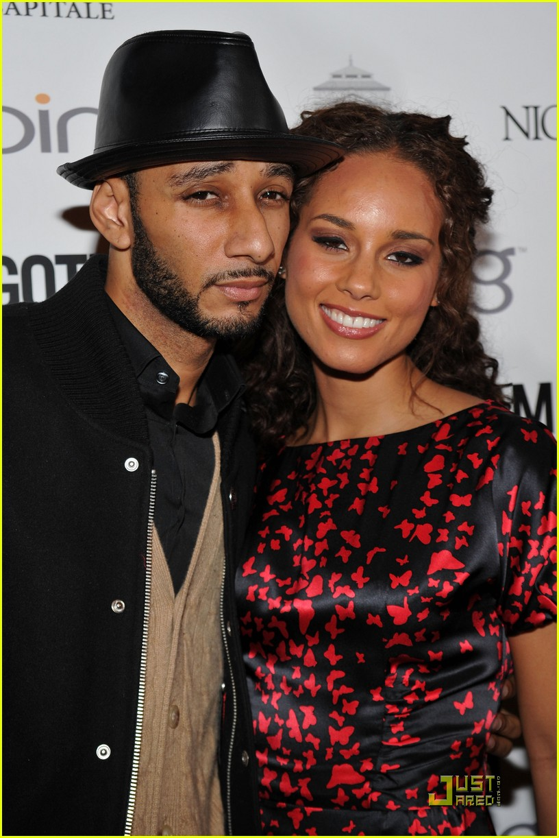 alicia keys steps out with swizz beatz 172434973