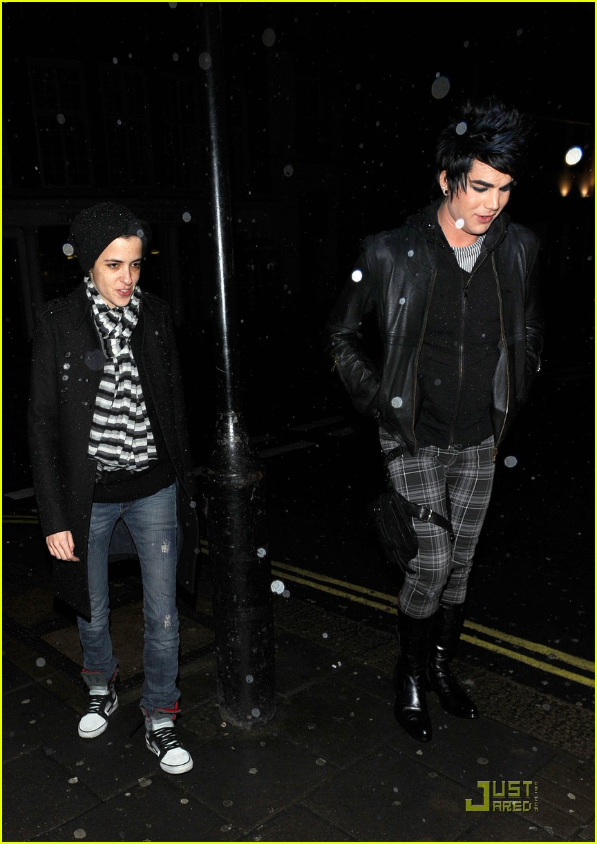 adam lambert samantha ronson love london 01