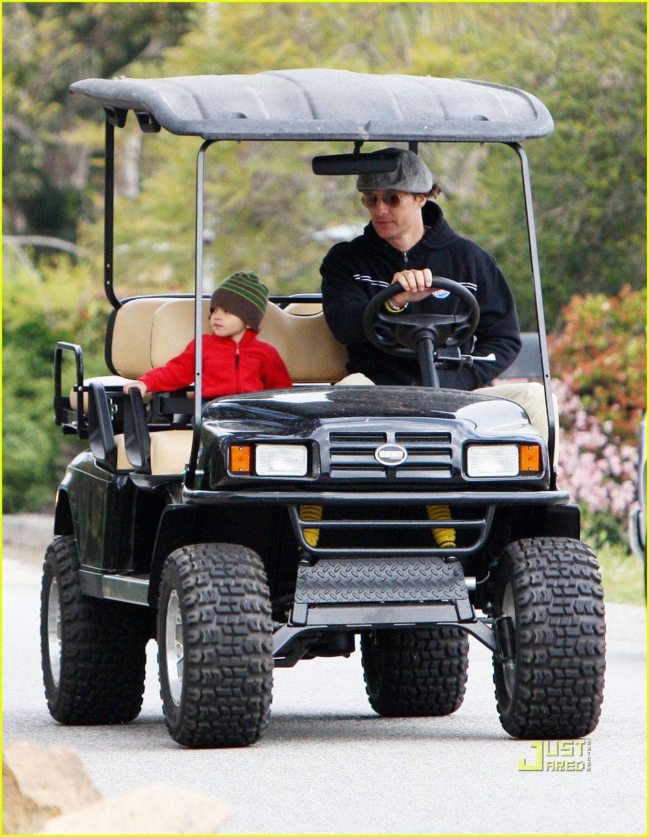 levi matthew mcconaughey golf cart 02