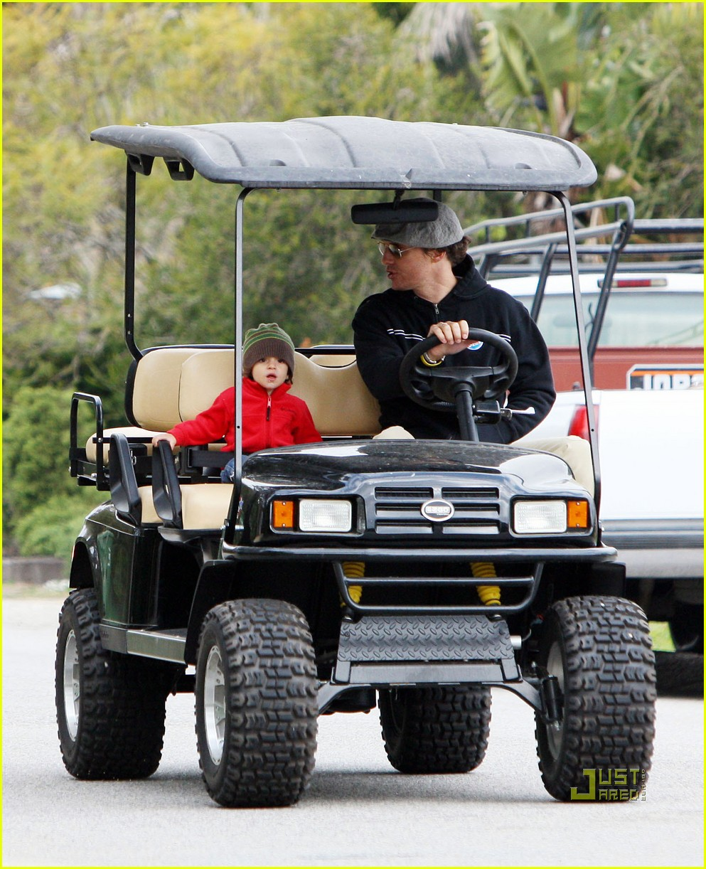 levi matthew mcconaughey golf cart 04