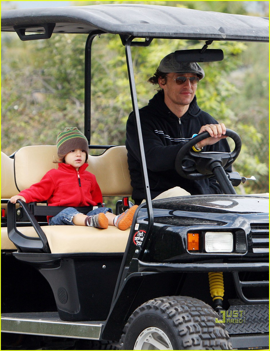 levi matthew mcconaughey golf cart 072437564