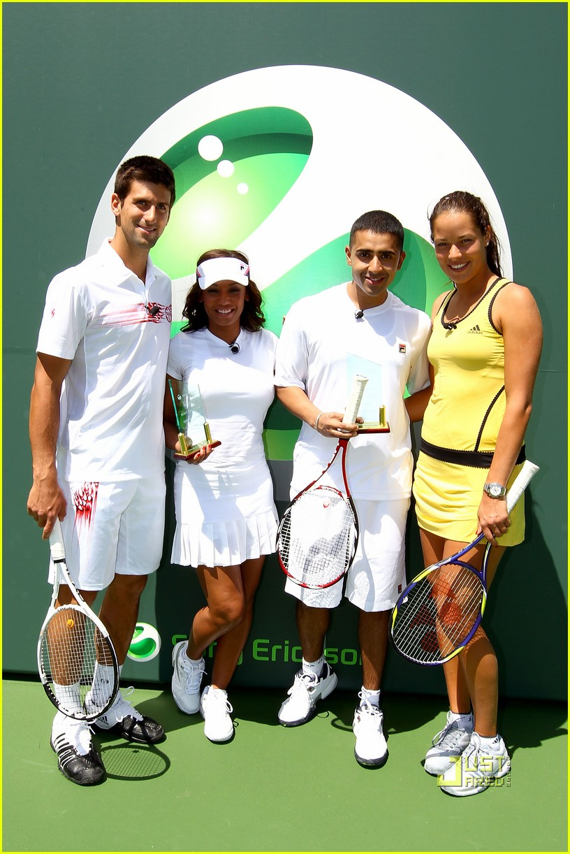 novak djokovic jay sean glam set match 02