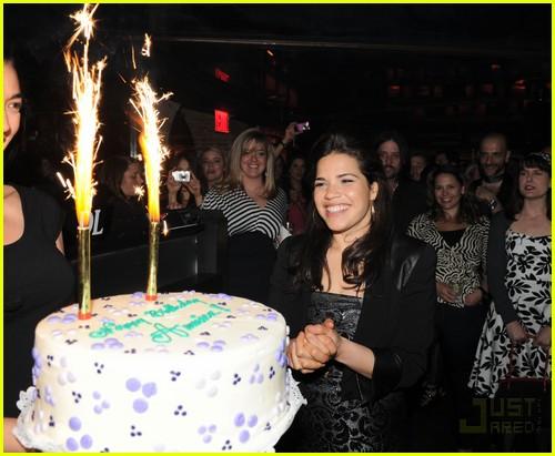 america ferrera birthday party 062445527