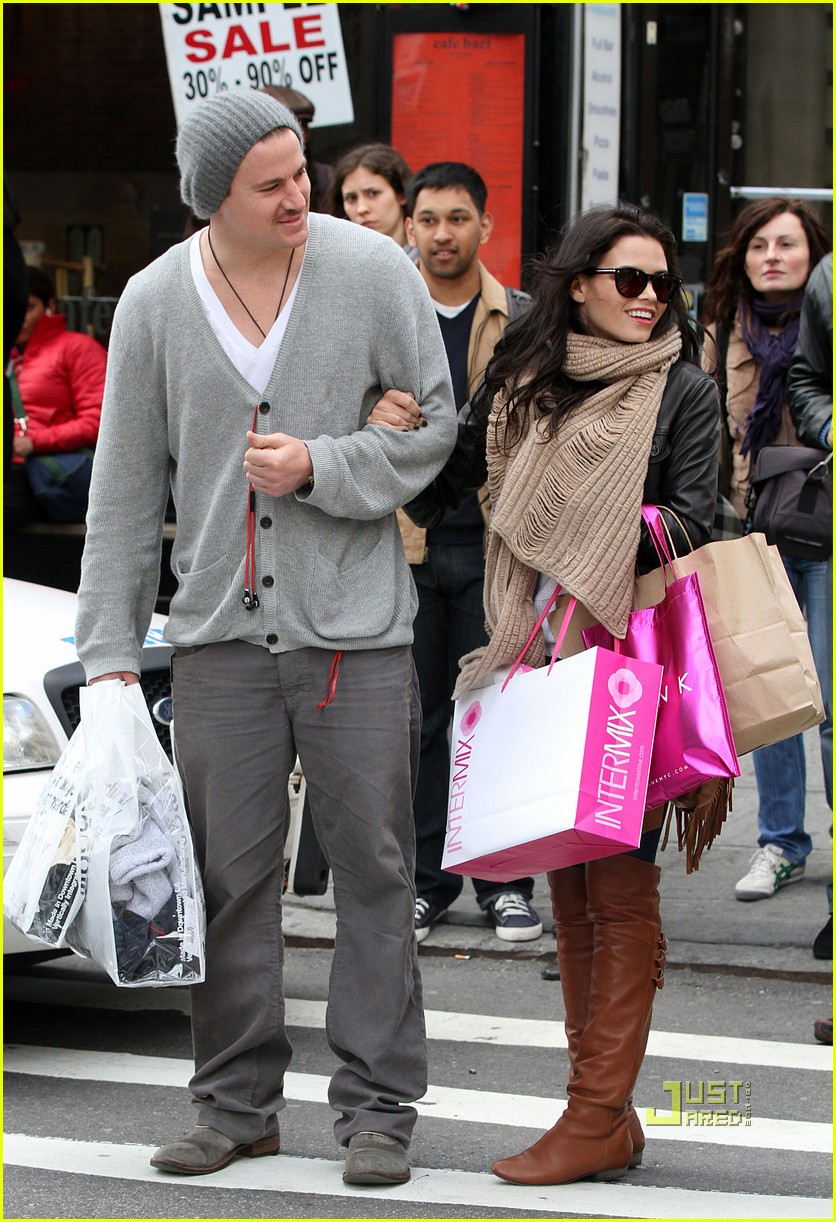 channing tatum jenna dewan soho shopping 04
