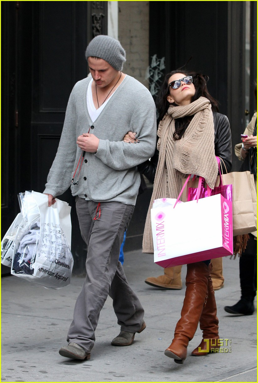 channing tatum jenna dewan soho shopping 052446558