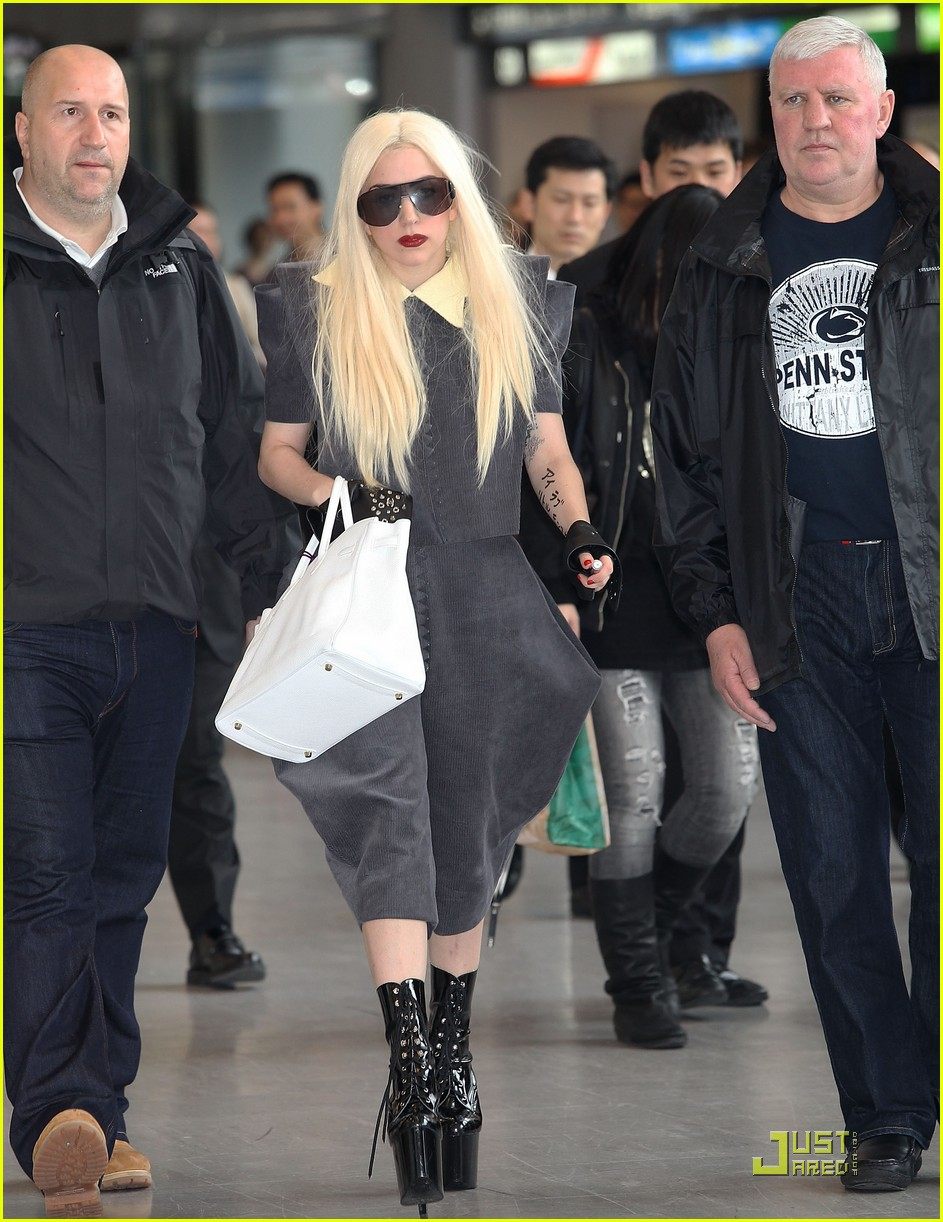 lady gaga is new to narita 022442092