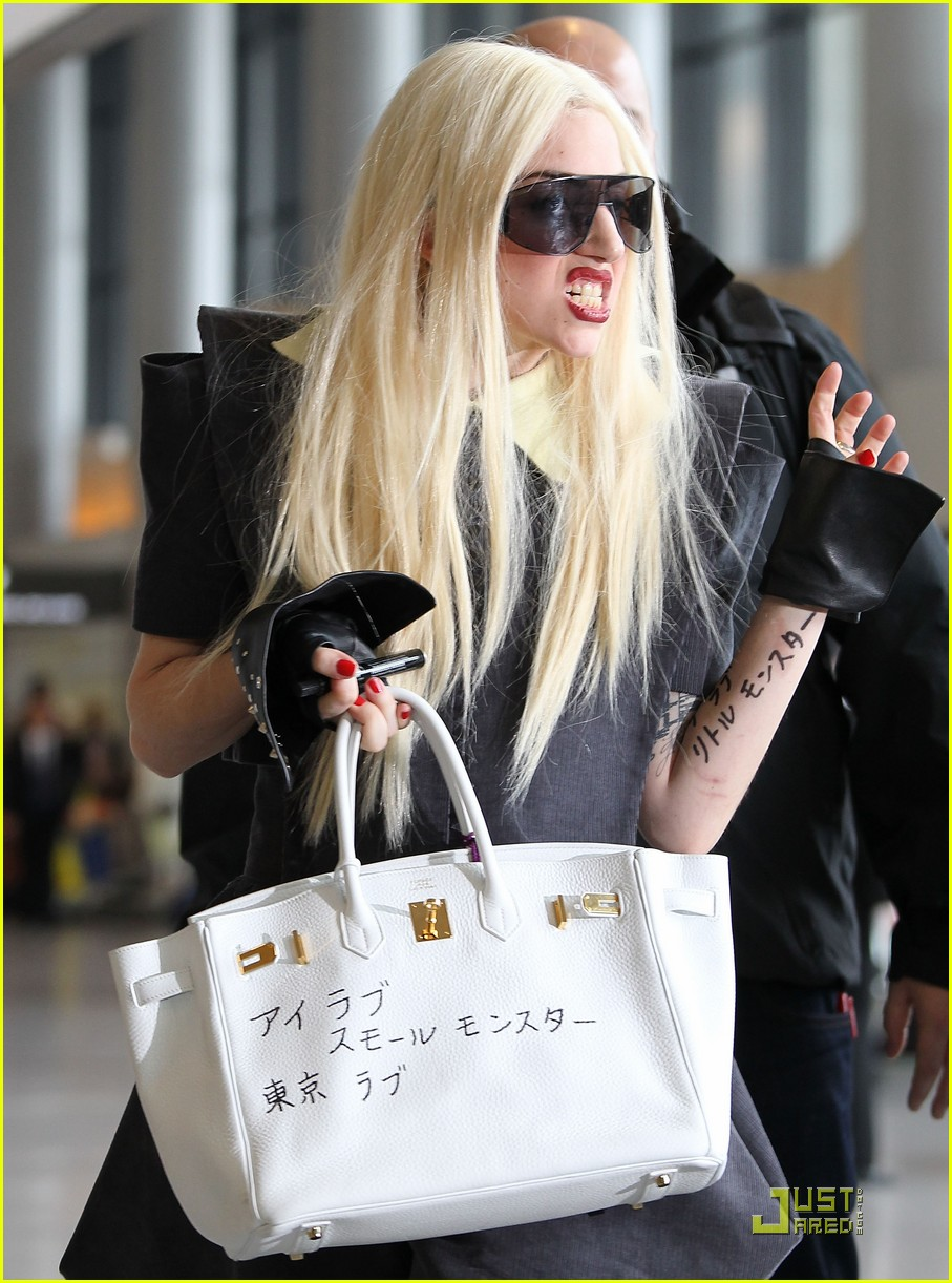 lady gaga is new to narita 07
