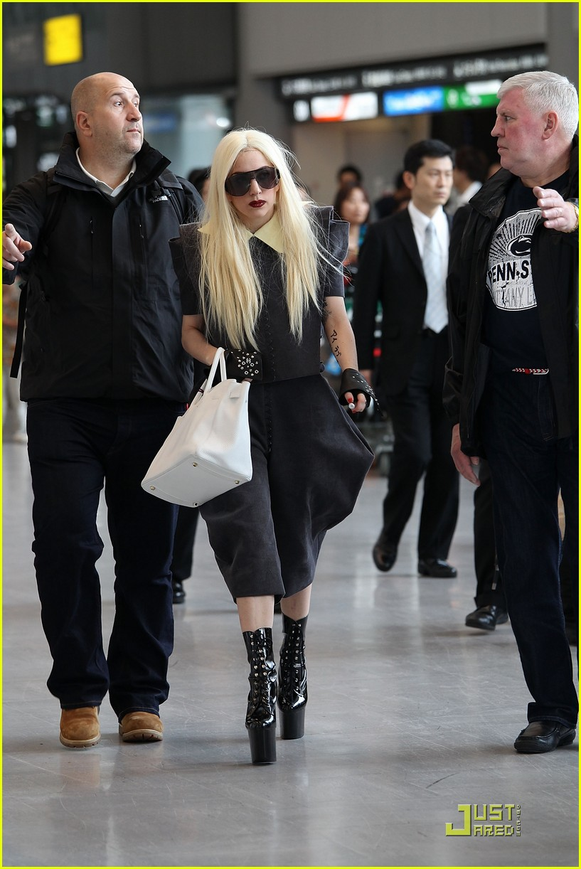 lady gaga is new to narita 192442109