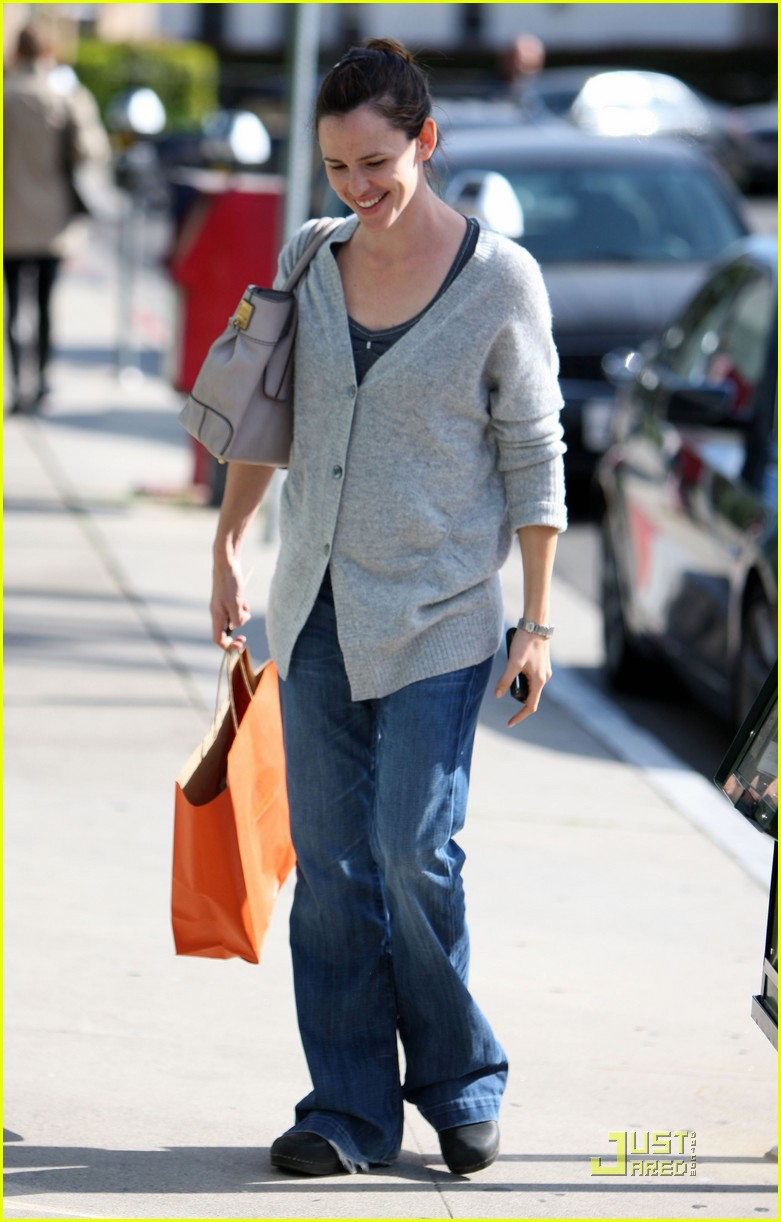 jennifer garner shopping girls 06