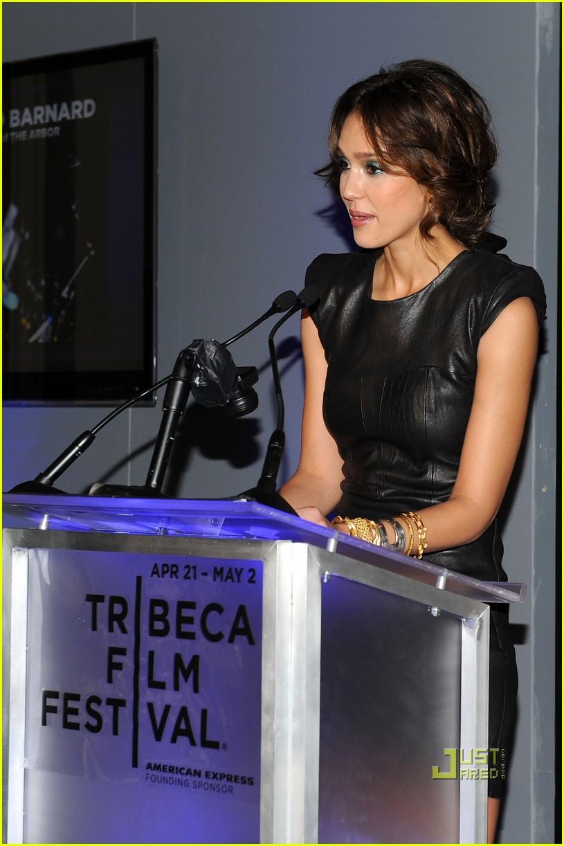 jessica alba tribeca film festival awards abbie cornish america ferrera 032446866