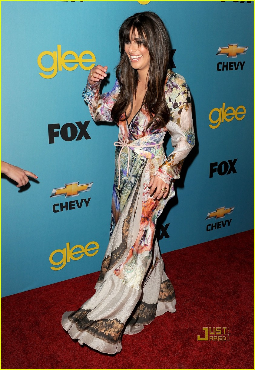lea michele glee spring fling 14