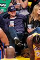 leonardo dicaprio bar refaeli lakers game 06