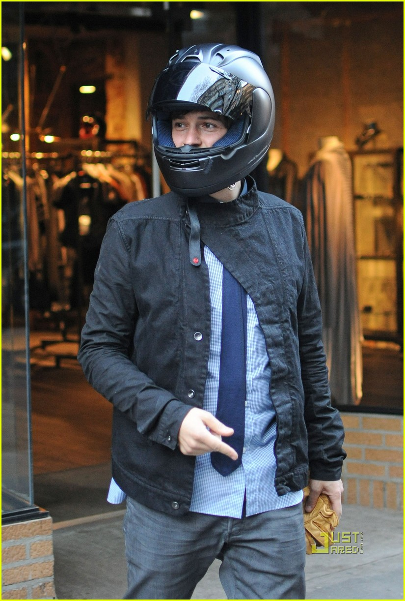 orlando bloom miranda kerr motorcycle 022439946