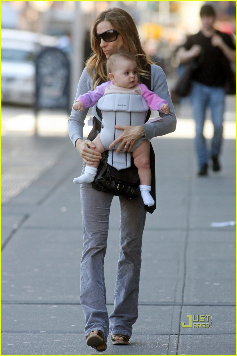 sarah jessica parker baby new york city 022440123