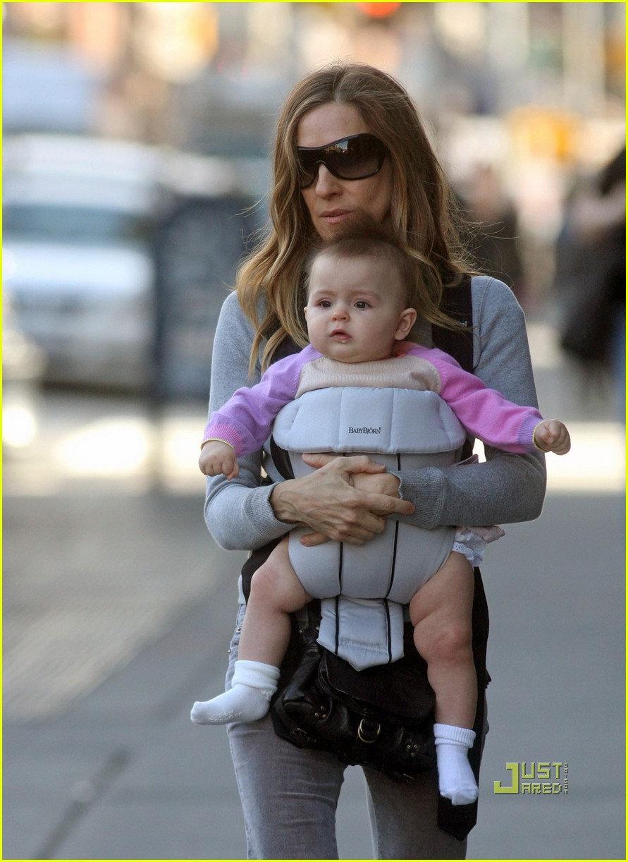 sarah jessica parker baby new york city 04