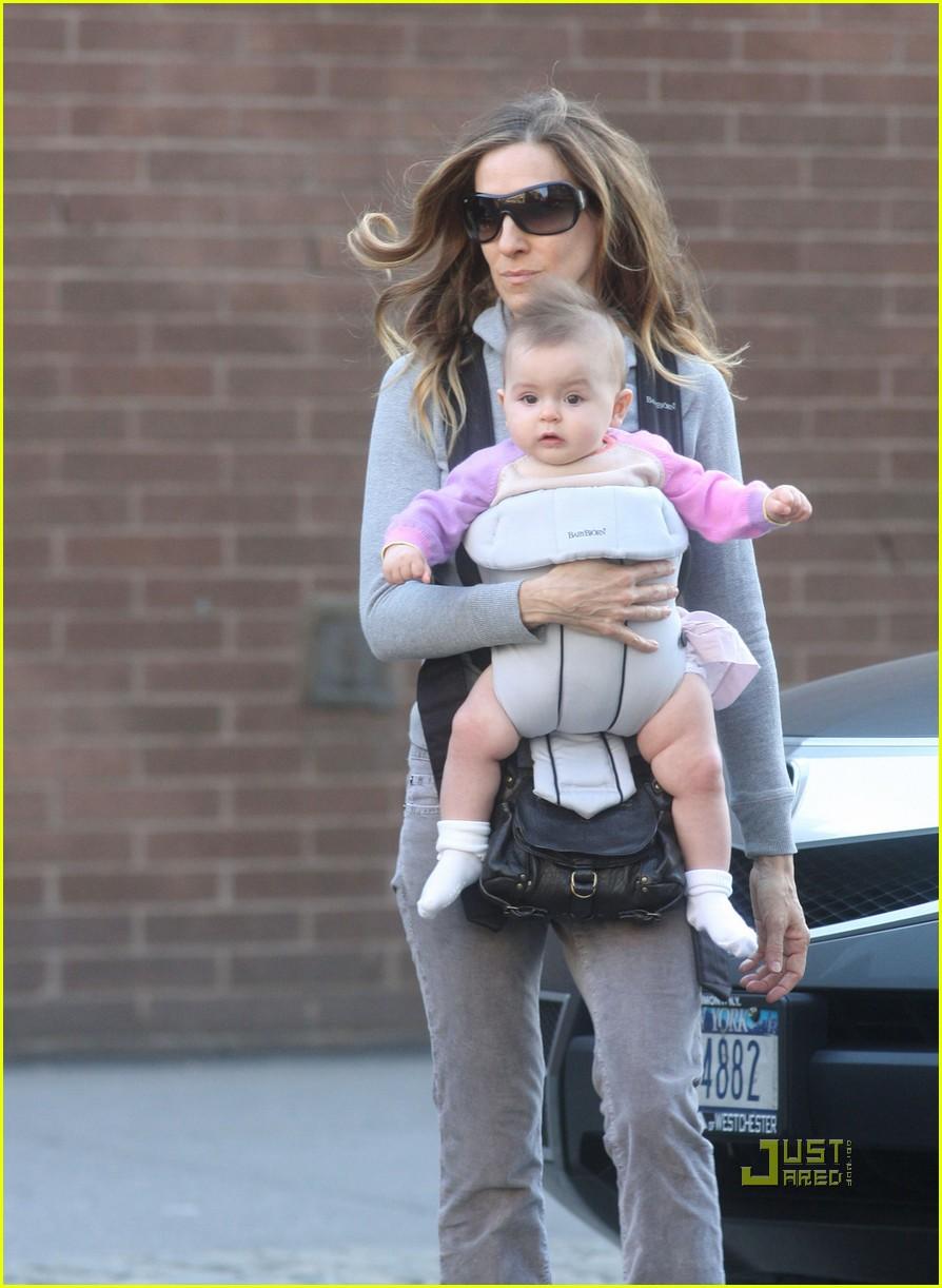 sarah jessica parker baby new york city 072440128