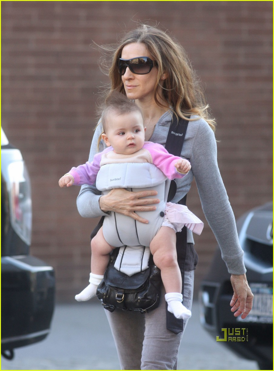 sarah jessica parker baby new york city 092440130