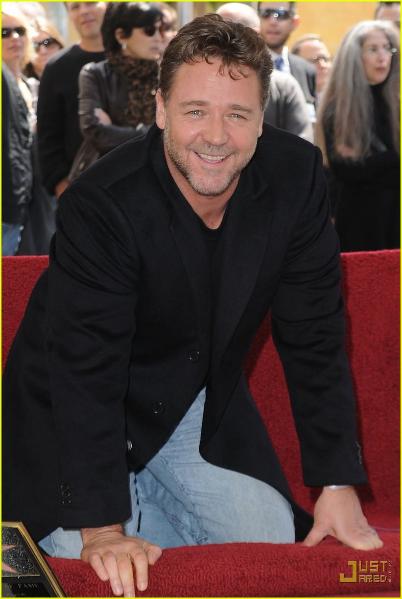 russell crowe hollywood walk of fame star 072442244