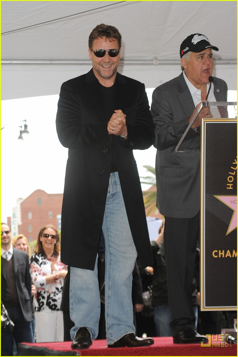 russell crowe hollywood walk of fame star 112442248