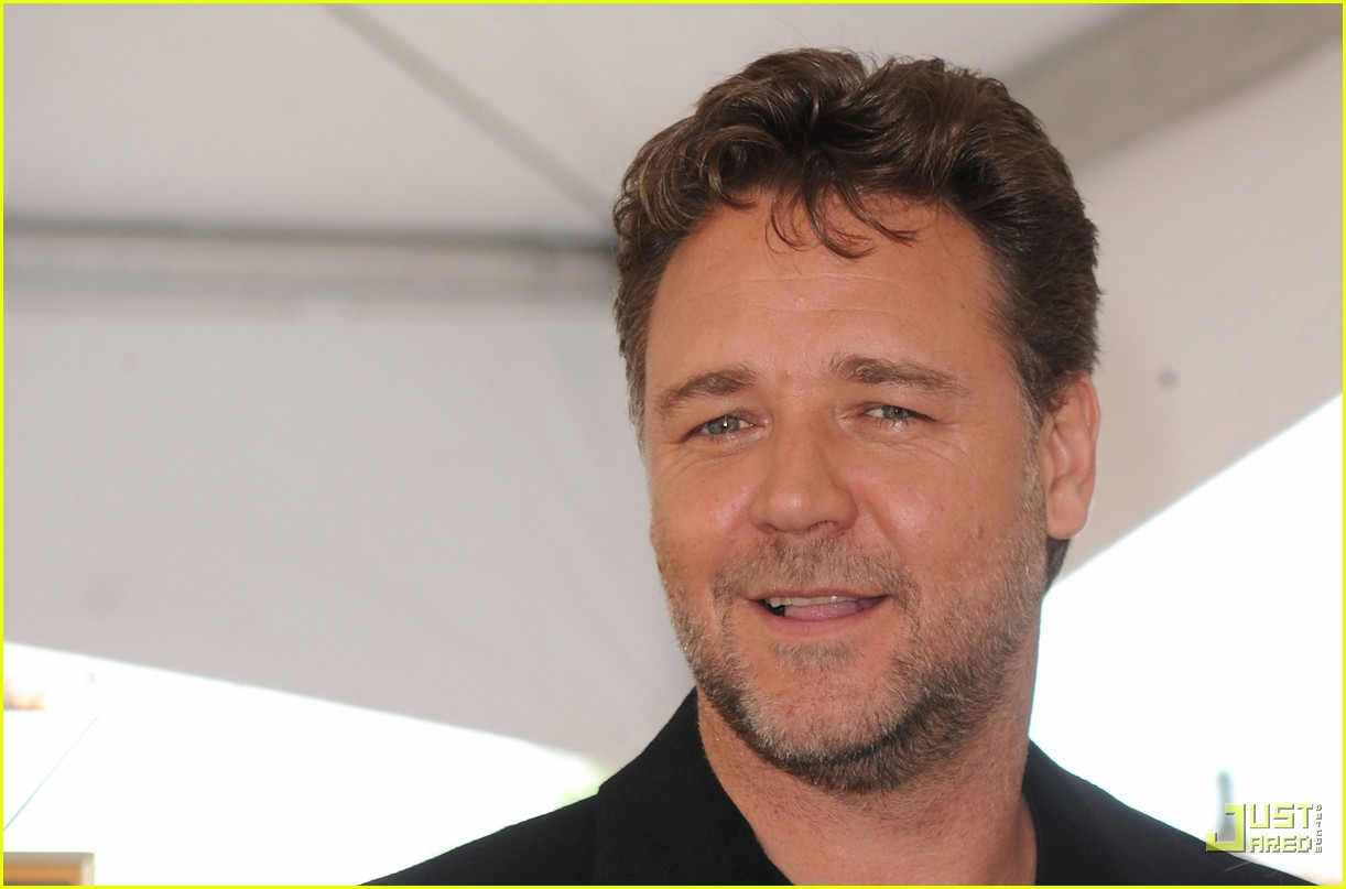 russell crowe hollywood walk of fame star 12