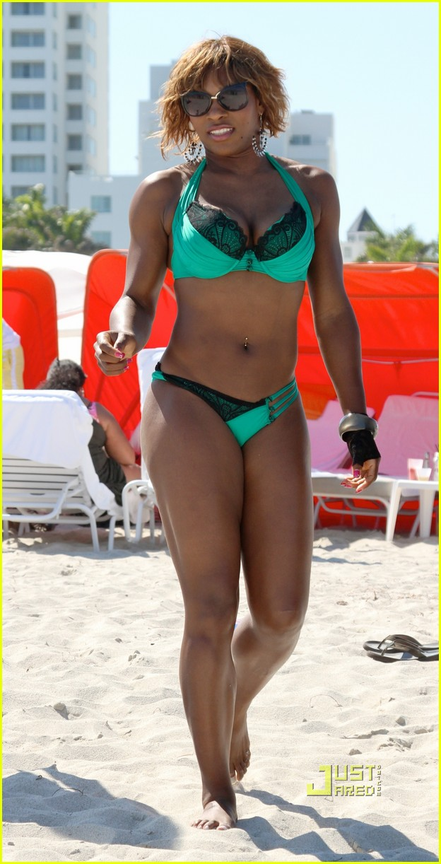 serena williams miami beach bikini 112439541