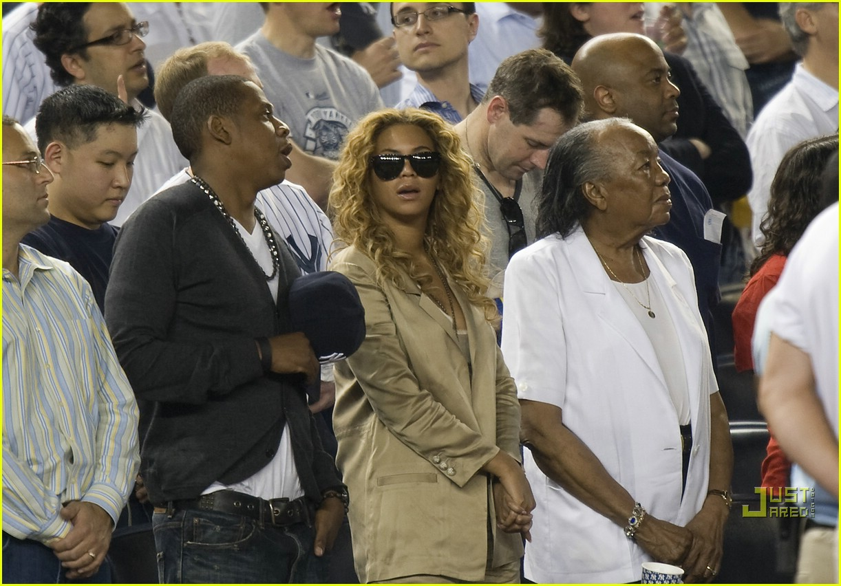 beyonce jay z mother in law yankee 062450928