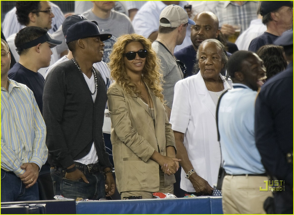 beyonce jay z mother in law yankee 072450929