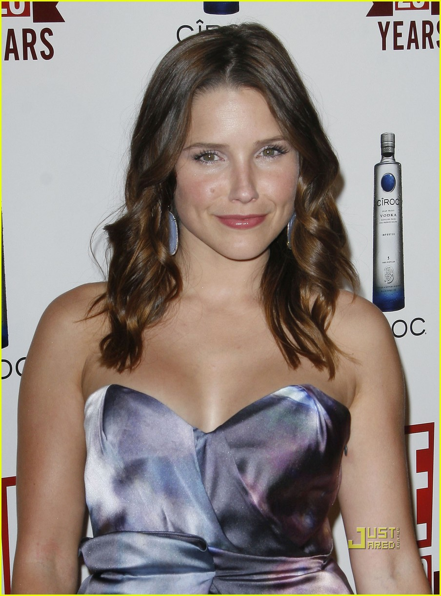 sophia bush austin nichols red carpet 122453411
